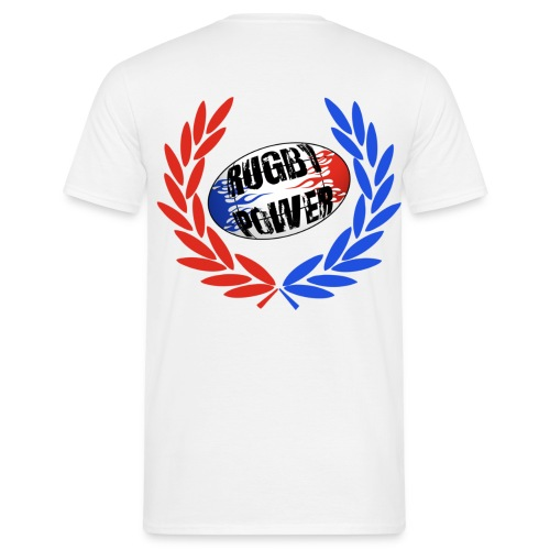 t-shirt rugby power - T-shirt Homme