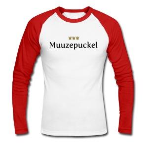 Muuzepuckel - Männer Baseballshirt langarm