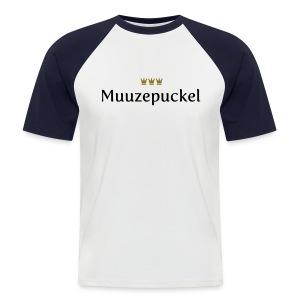 Muuzepuckel - Männer Baseball-T-Shirt