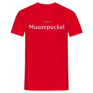 Muuzepuckel - Männer T-Shirt