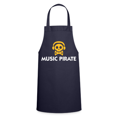Navy Music Pirate (2c)  Aprons