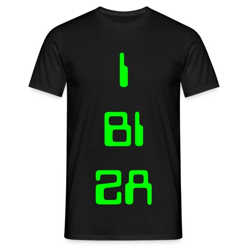 IBIZA NEON DATA - Men's T-Shirt