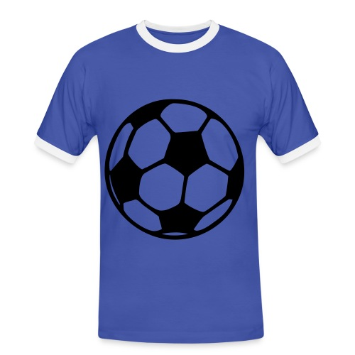 Football T-shirt - Männer Kontrast-T-Shirt