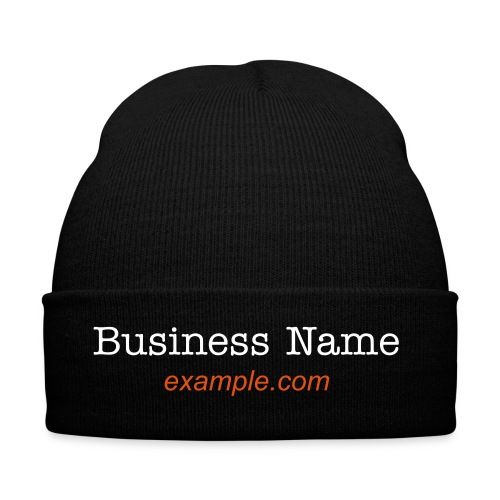 Woolly Hat - Branded with yoiur company name - Winter Hat