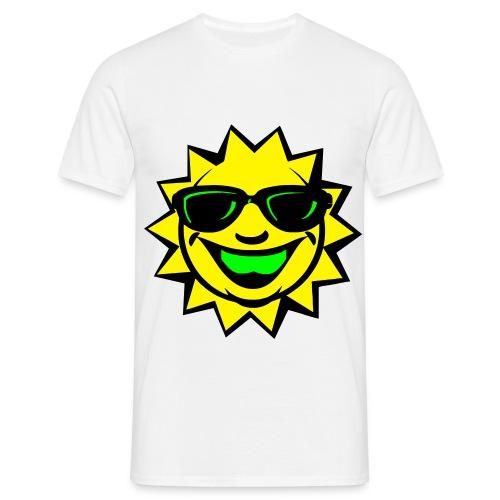 Herren T-shirt  Sunsmile  - Männer T-Shirt