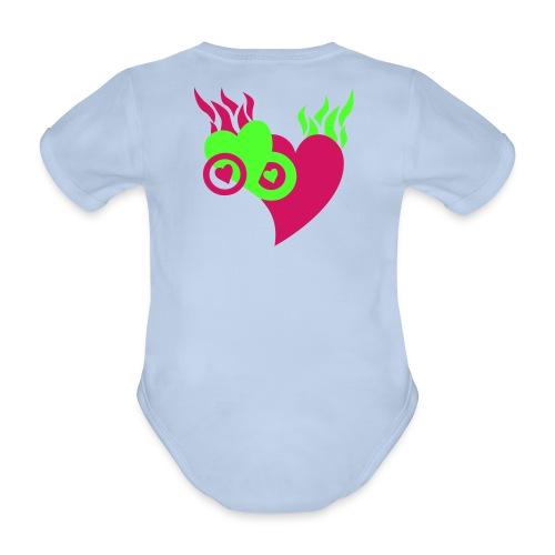 cool kids body - Økologisk kortermet baby-body