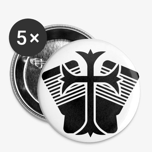 Ansteckpin J.T.K. - Buttons groß 56 mm