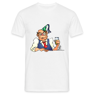T-shirts ~ Mannen T-shirt ~ Birthday Abraham - wit