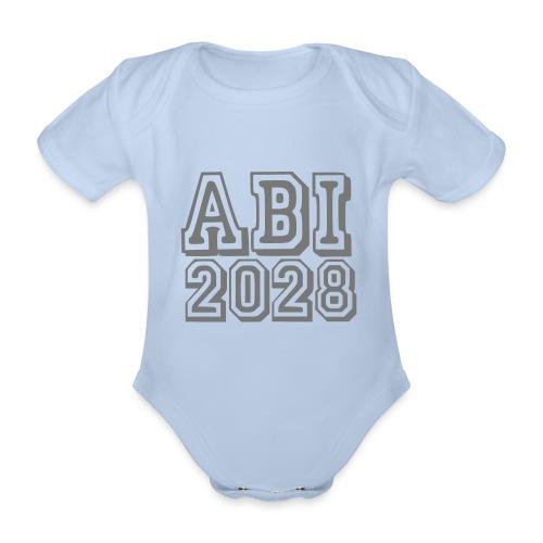 ABI 2028 - Baby Bio-Kurzarm-Body