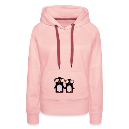 Podskocz Rec. - Funky Pinguin Women Hoodie - Bluza damska Premium z kapturem
