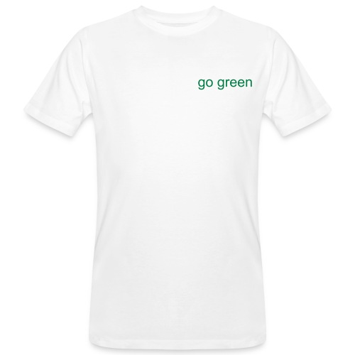 Naim's gone green - Men's Organic T-Shirt