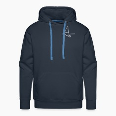 Navy Sailing ship Hoodies & Sweatshirts