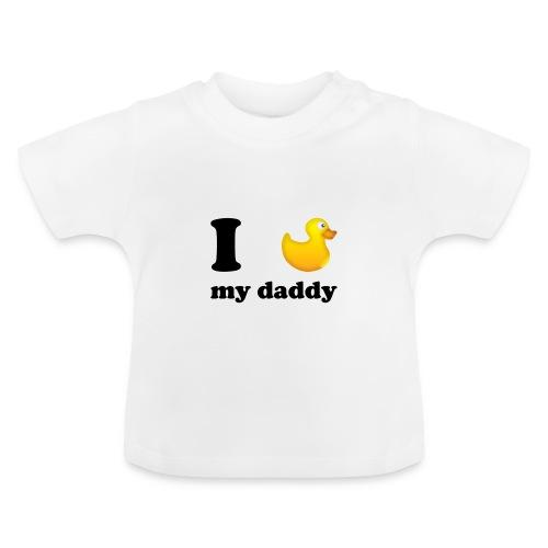 Love daddy - Tamelijk - Baby T-shirt