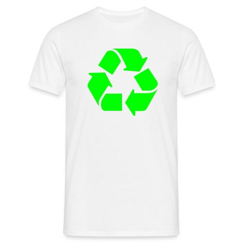 Kierrätys - Miesten t-paita