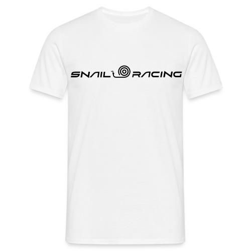 Snail racing - Klassisk herr vit - T-shirt herr