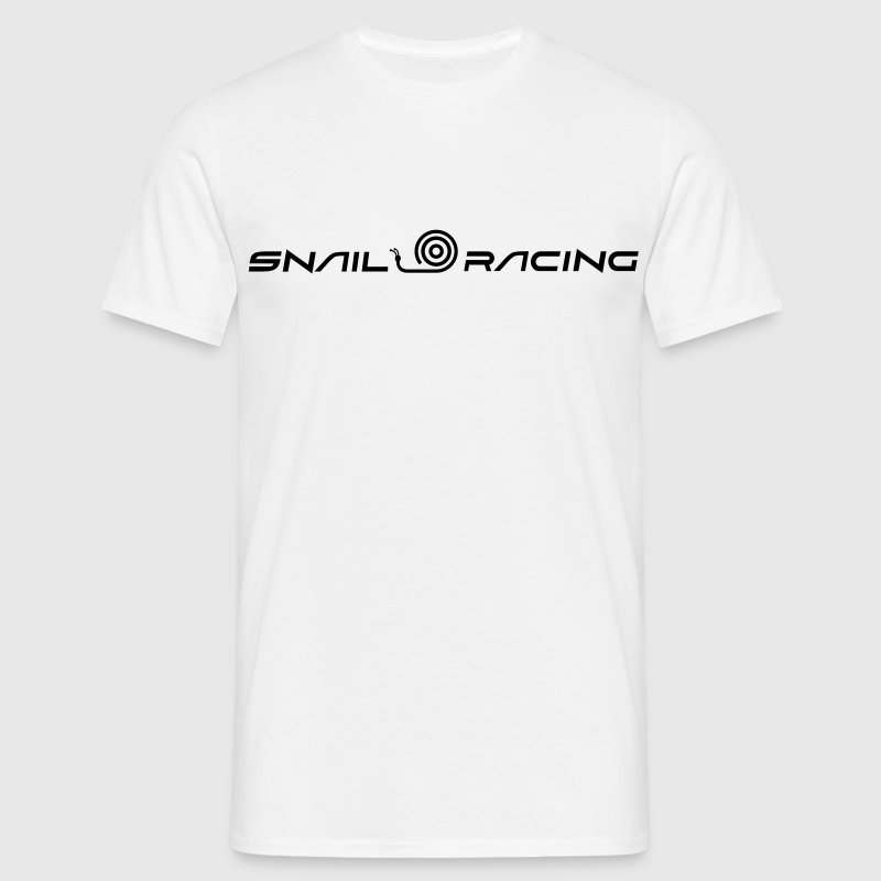 Snail racing - T-shirt herr