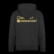 Sweaters ~ Mannenjack Premium met capuchon ~ Ongeschikt - heren jack met capuchon