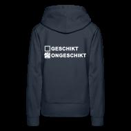 Sweaters ~ Vrouwen Premium hoodie ~ Ongeschikt - dames sweater met capuchon