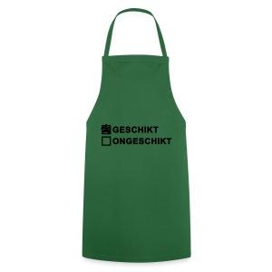 Geschikt - keukenschort - Keukenschort