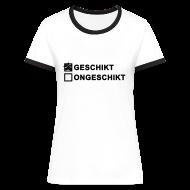 T-shirts ~ Vrouwen contrastshirt ~ Geschikt - dames contrast shirt