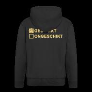 Sweaters ~ Mannenjack Premium met capuchon ~ Geschikt - heren jack met capuchon