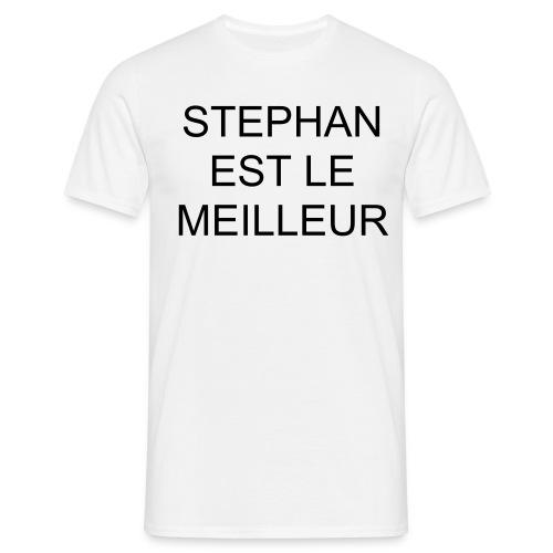 T-SHIRT HOMME STEPHAN - T-shirt Homme