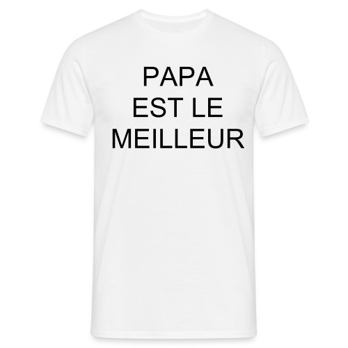 T-SHIRT HOMME PAPA - T-shirt Homme