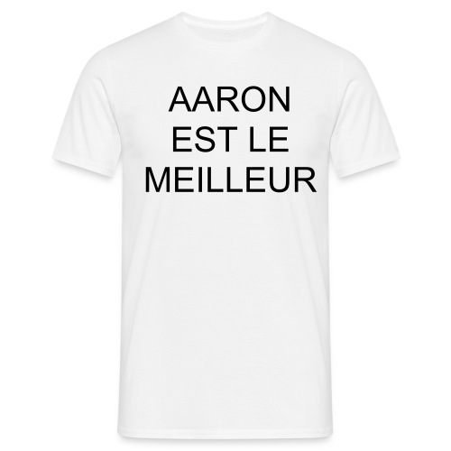 T-SHIRT HOMME AARON - T-shirt Homme