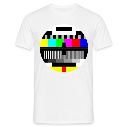 80's Test Card - Men's T-Shirt
