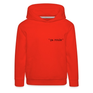 sweat enfant rouge - Pull à capuche Premium Enfant