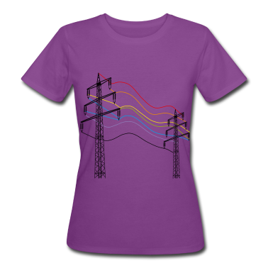 Purple electricity T-Shirts