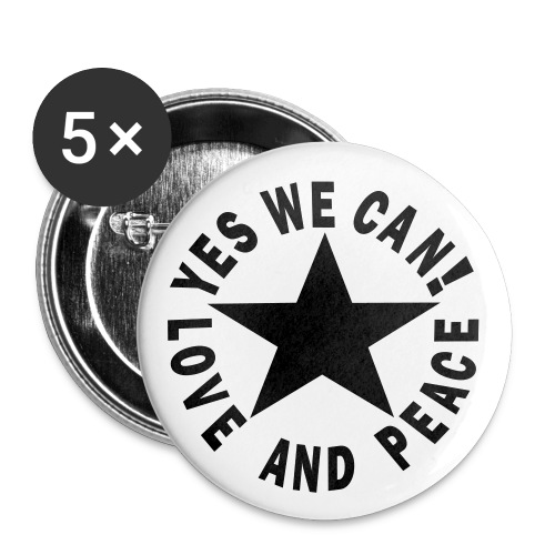 Yes we can Anstecker - Buttons klein 25 mm