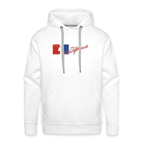 White Jumper Logo - Männer Premium Hoodie