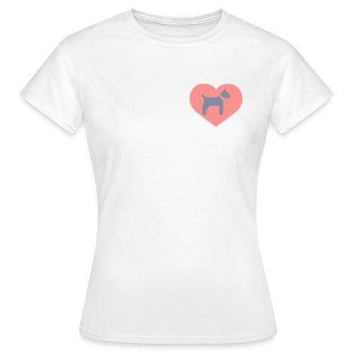 Doglove - Frauen T-Shirt
