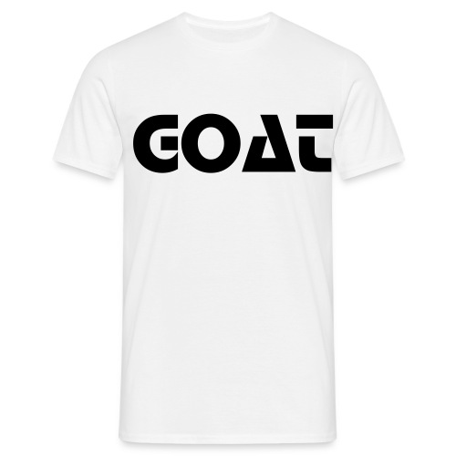 GOAT Plain T-shirt for menn - T-skjorte for menn