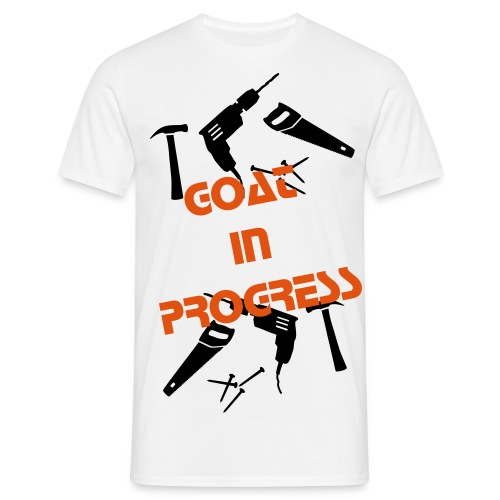 GOAT IN PROGRESS T-shirt - T-skjorte for menn