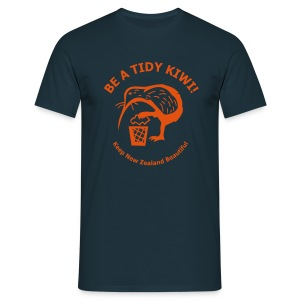Be a Tidy Kiwi - Men's T-Shirt