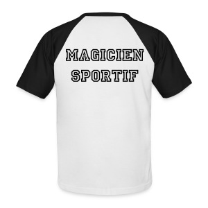 Magicien sportif - T-shirt baseball manches courtes Homme