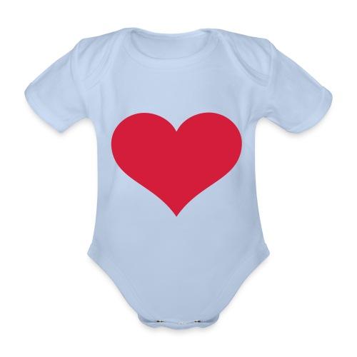 T-shorte fra VUE - Økologisk kortermet baby-body