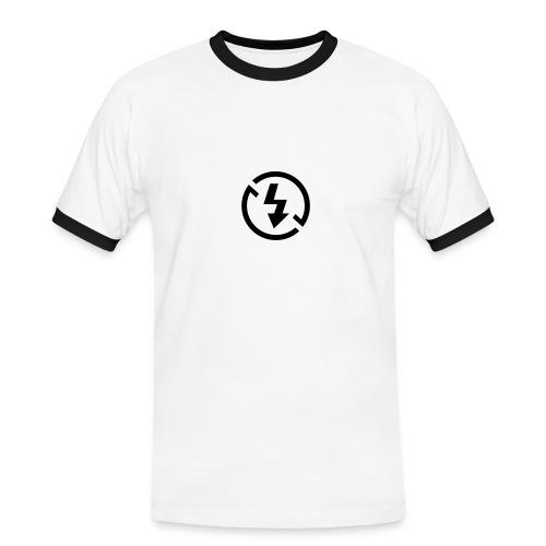 Fotografen Retro-Shirt No-Flash - Männer Kontrast-T-Shirt