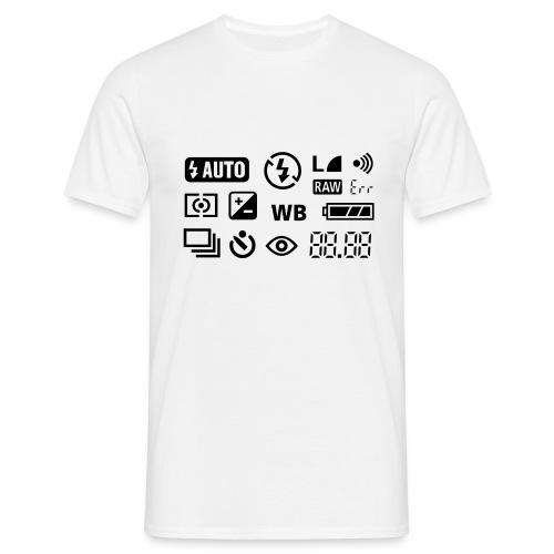 Fotografen T-Shirt - Männer T-Shirt