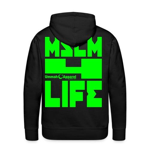 Muslim 4 Life - Men's Premium Hoodie