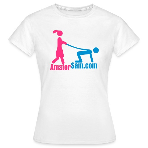Women's Classic shirt 'Married' White/Pink/Light Blue - Women's T-Shirt