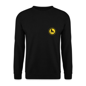 Leaping Wolf Sweatshirt - Men's Sweatshirt