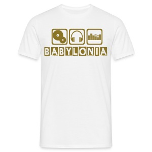 BABYLONIA OR BRILLANT - T-shirt Homme