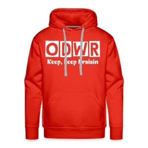 Men's Premium Hoodie - Go for it guys change the song lyrics to your fave friscan tune!