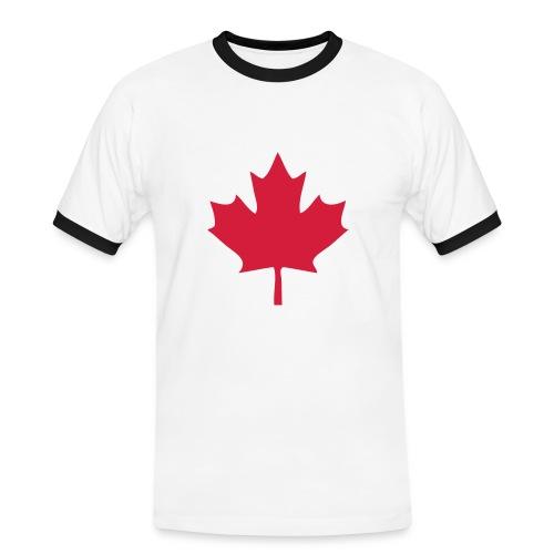 Canada - Männer Kontrast-T-Shirt