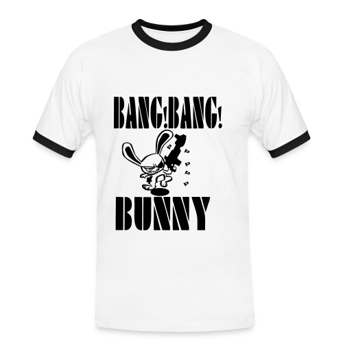 Bang Bang Bunny - Men's Ringer Shirt