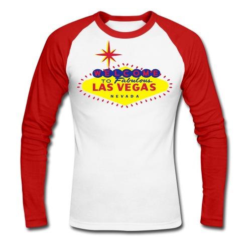 VEGAS SLOT TATTOO - T-shirt baseball manches longues Homme