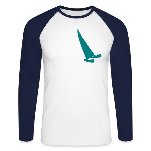 Katamaran Brust Langarm - Männer Baseballshirt langarm